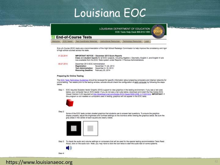 Louisiana EOC