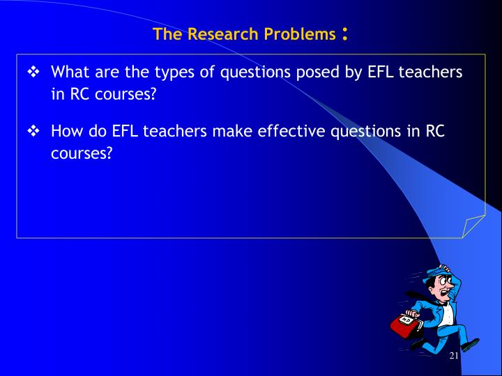 The Research Problems