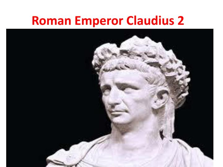 Roman Emperor Claudius 2
