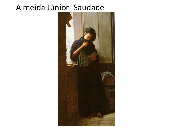 Almeida Júnior- Saudade