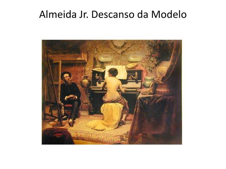 Almeida Jr. Descanso da Modelo