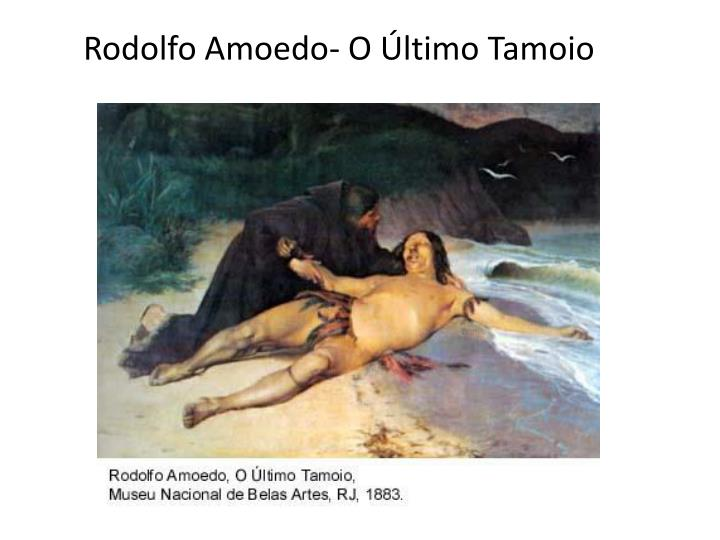 Rodolfo Amoedo- O Último Tamoio