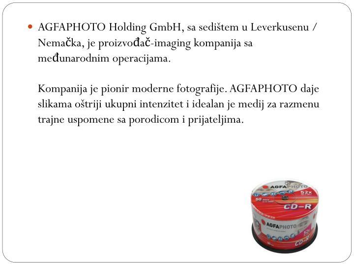 AGFAPHOTO Holding GmbH, sa
