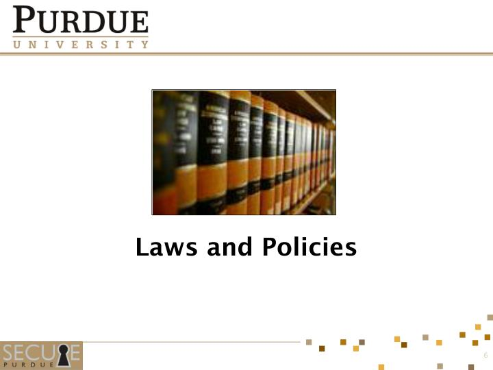 Laws and Policies