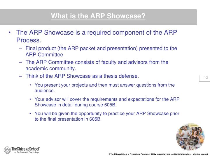 What is the ARP Showcase?