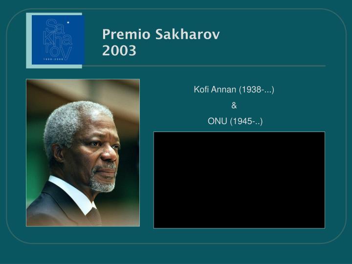 Premio Sakharov
