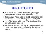 new acttion rfp