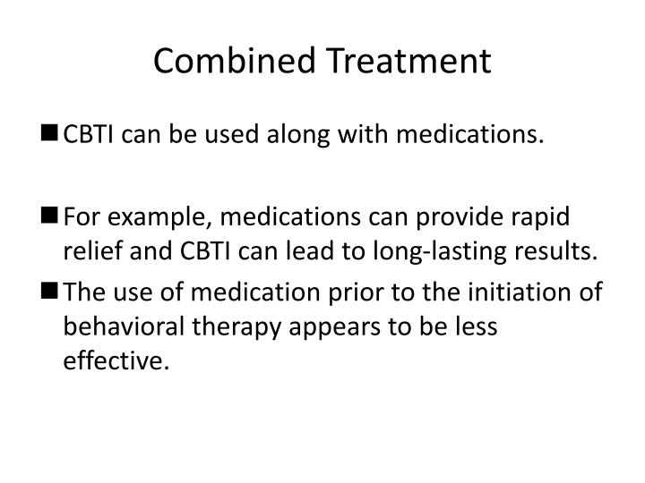 Combined Treatment