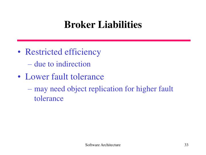 Broker Liabilities
