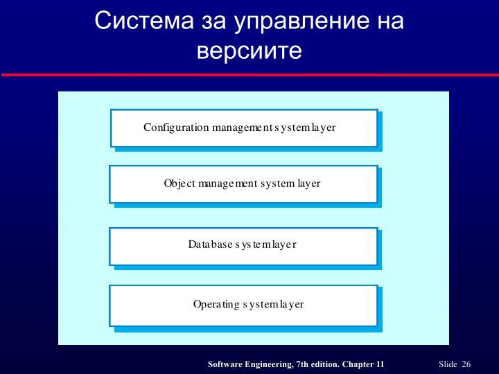 Система за управление на версиите