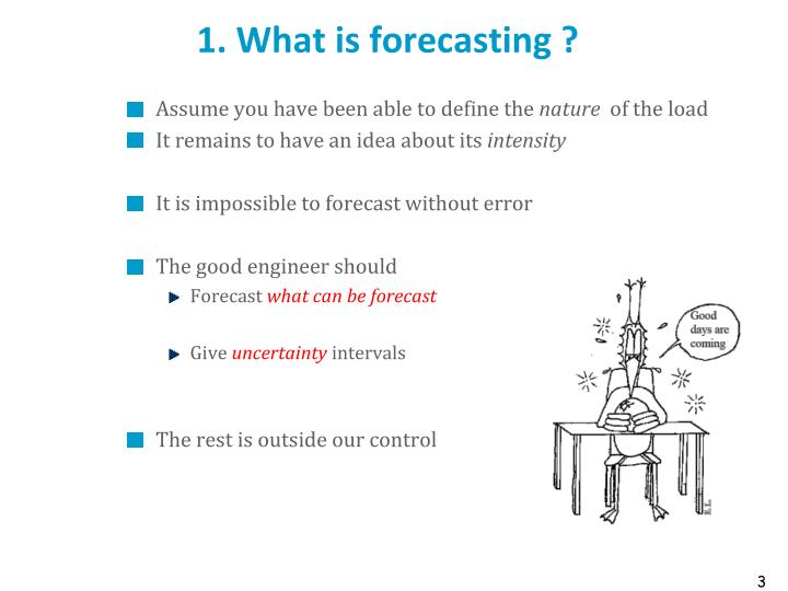 1 what is forecasting