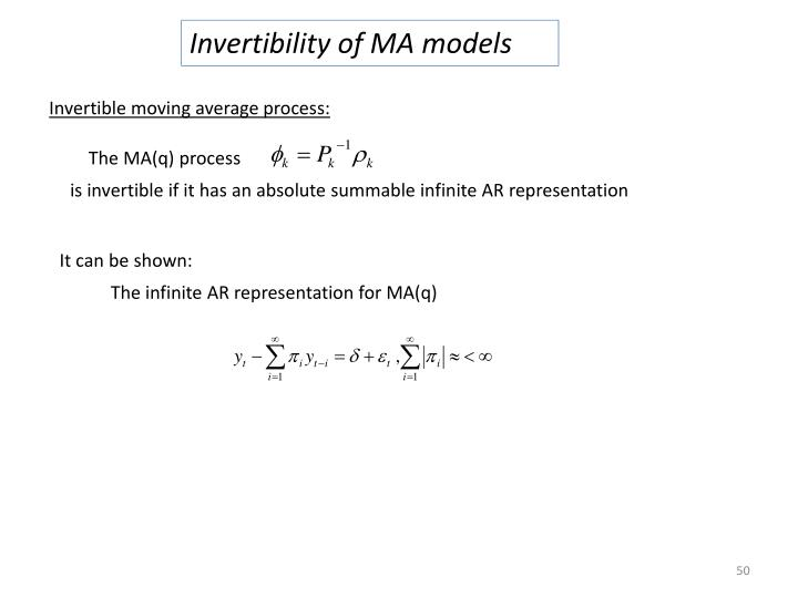 Invertibility