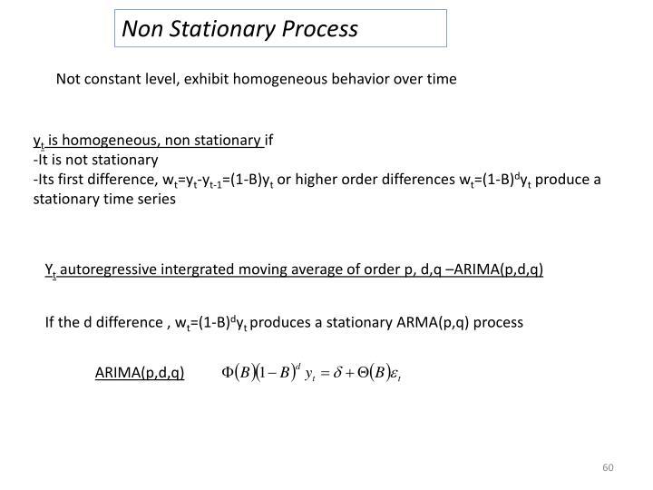 Non Stationary Process