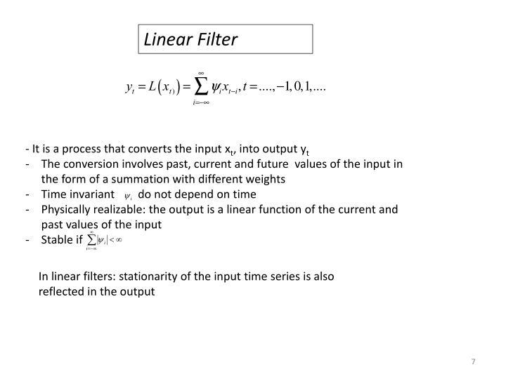 Linear Filter