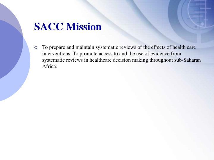 SACC Mission