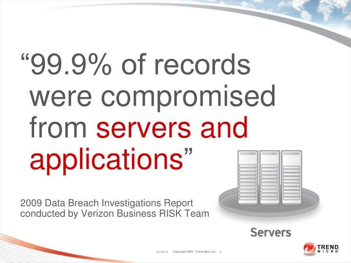 """""""99.9% of records were compromised from"""