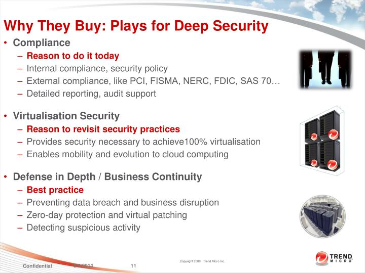 Why They Buy: Plays for Deep Security