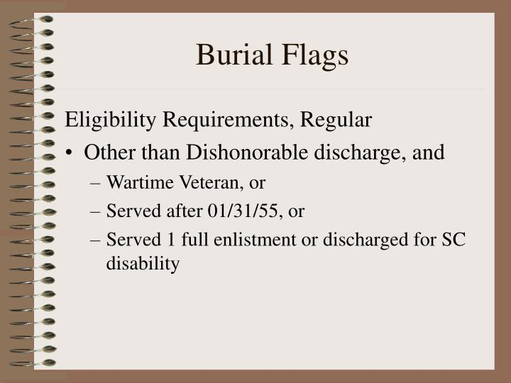 Burial Flags