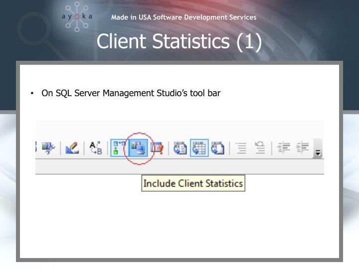 Client Statistics (1)