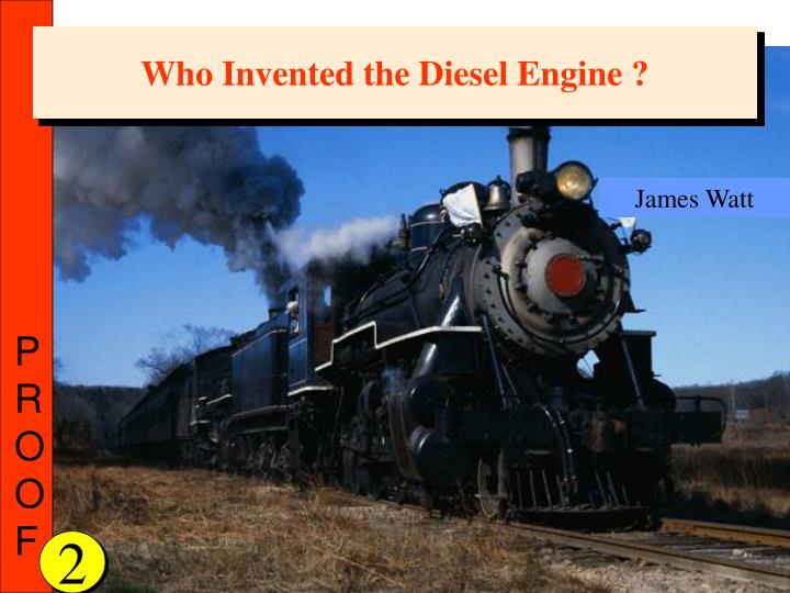 Who Invented the Diesel Engine ?