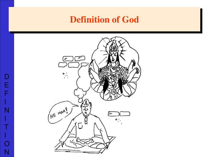 Definition of God