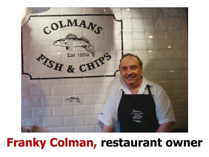 Franky Colman,