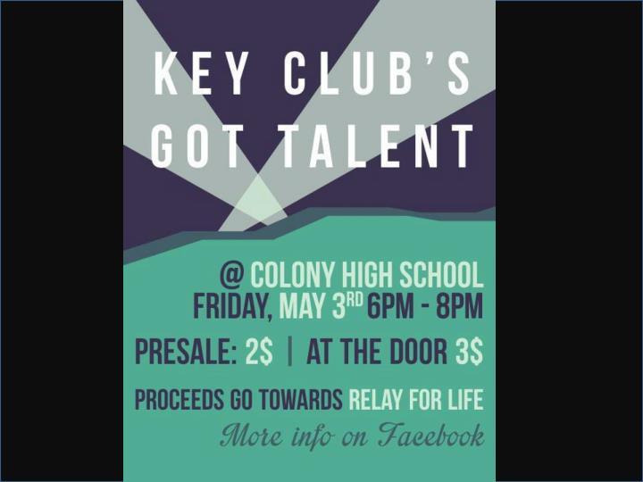 Key Club's Got Talent!