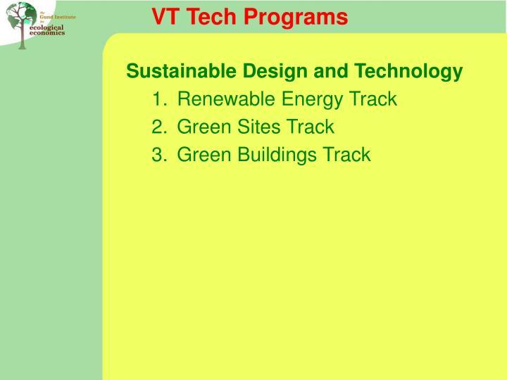 VT Tech Programs