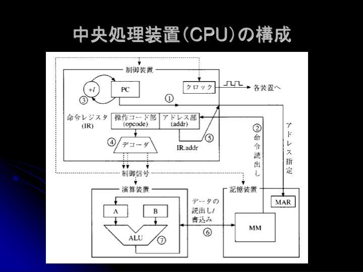 中央処理装置(