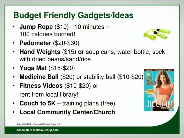 Budget Friendly Gadgets/Ideas