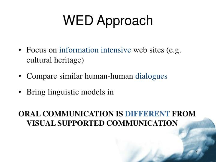 WED Approach