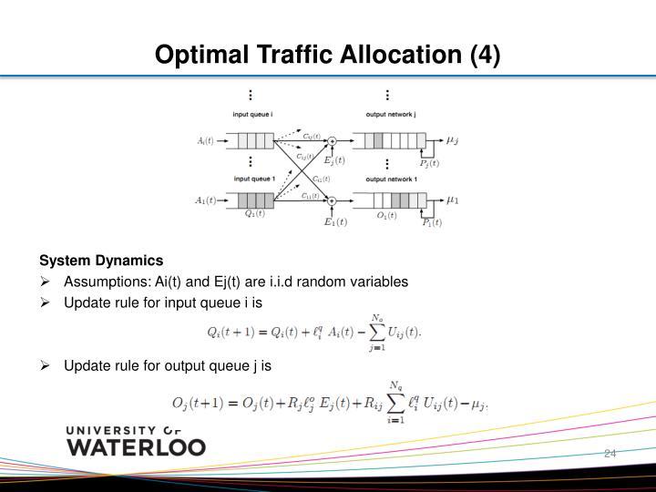 Optimal Traffic Allocation (4)