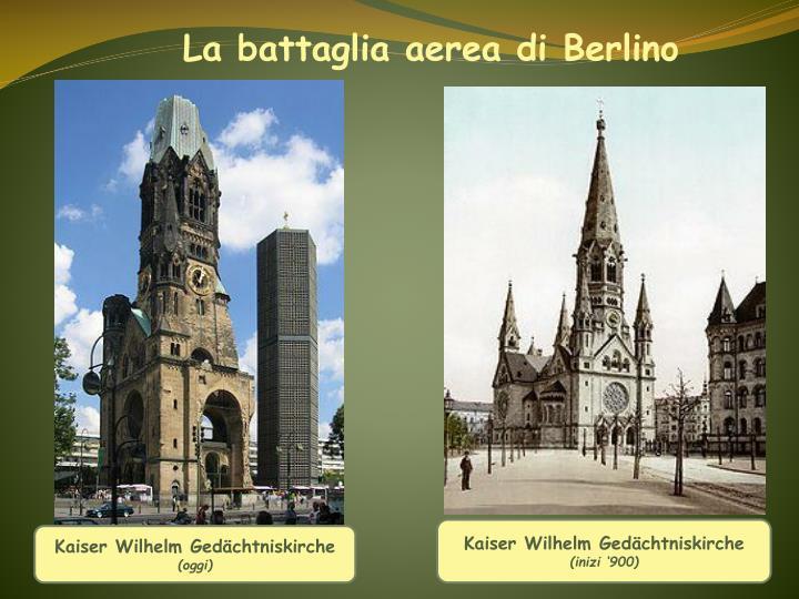 La battaglia aerea di Berlino