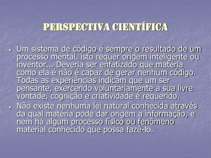 PERSPECTIVA Científica