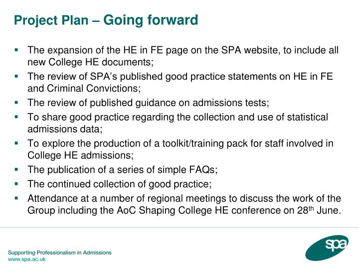 Project Plan –