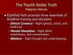 the fourth noble truth walpola rahula1