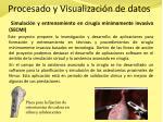 procesado y visualizaci n de datos