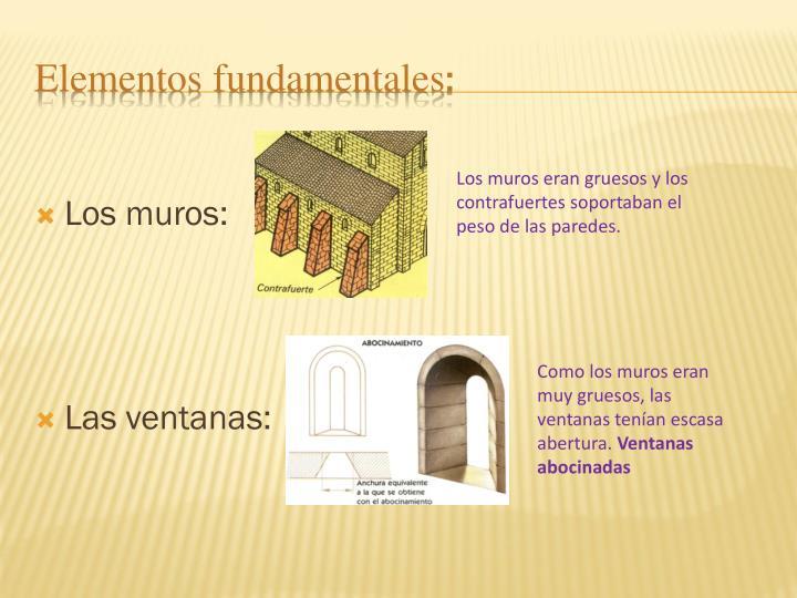 Los muros: