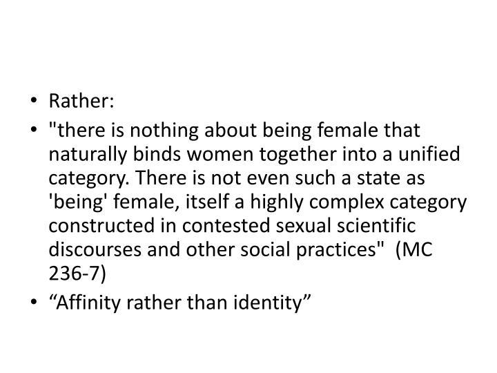 Rather: