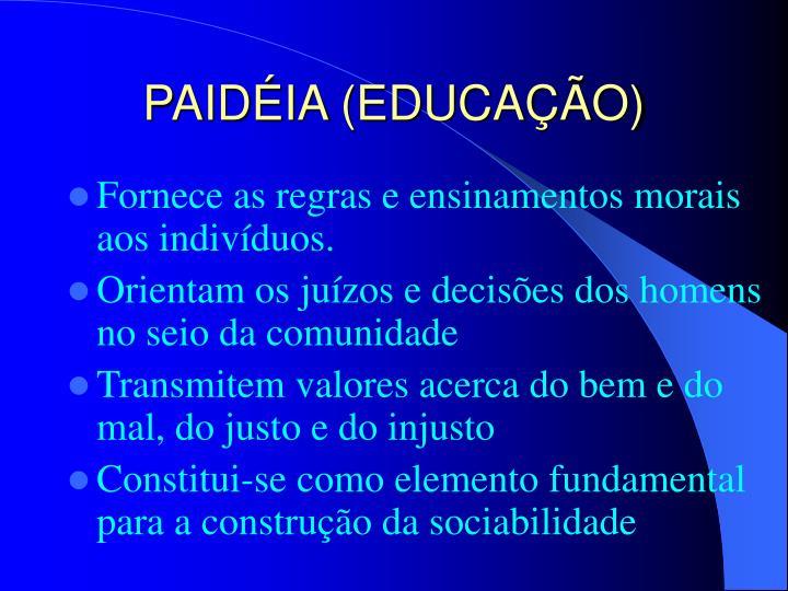 PAIDÉIA (EDUCAÇÃO)
