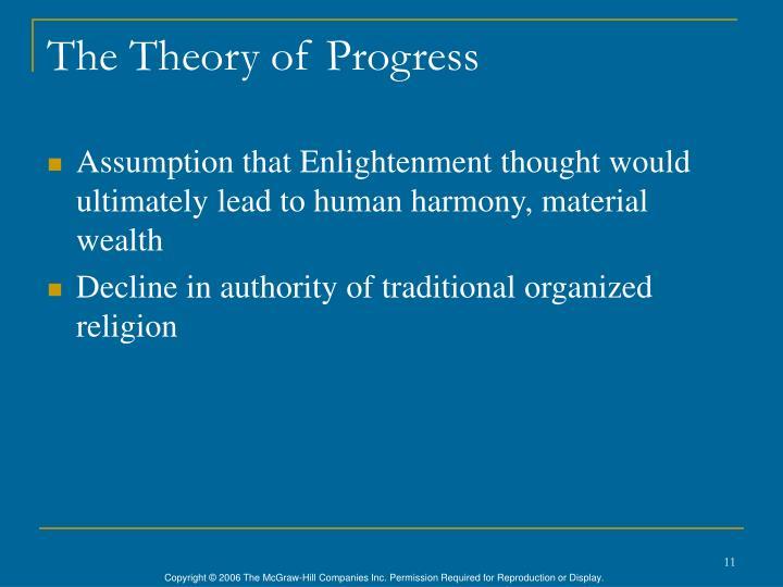 The Theory of Progress