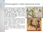 monarhia egiptean modelul despotismului oriental