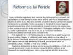 reformele lui pericle1