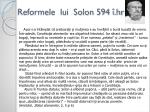 reformele lui solon 594 hr