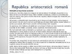 republica aristocratic roman2