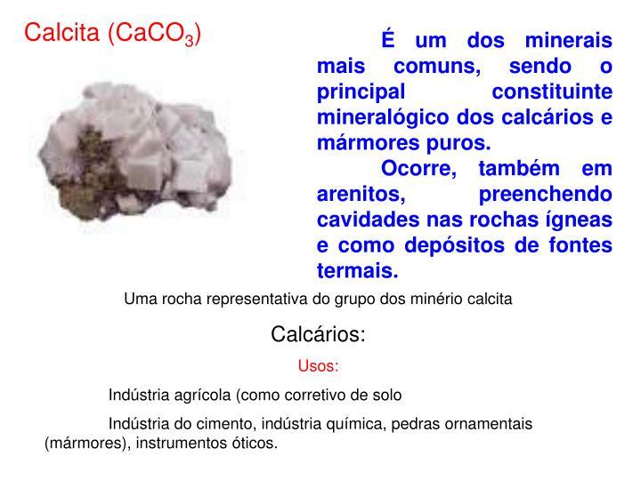Calcita (CaCO