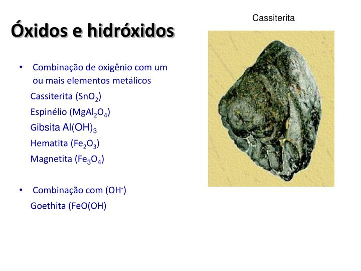 Cassiterita