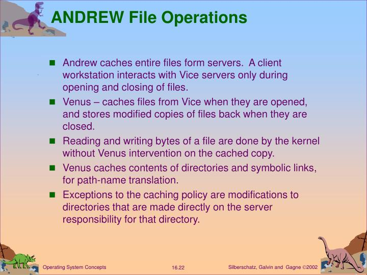 ANDREW File Operations