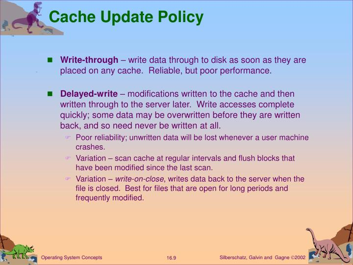 Cache Update Policy