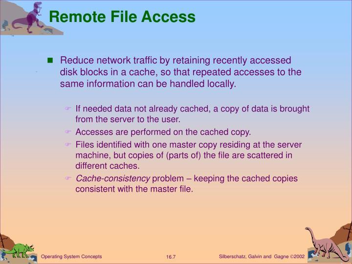 Remote File Access